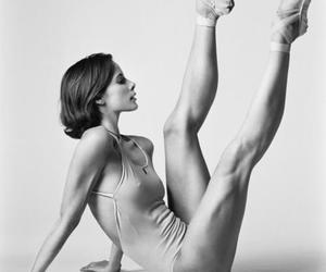 ballerina, beautiful, and belle image