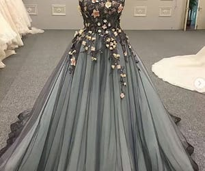 aesthetic, floral, and lace image