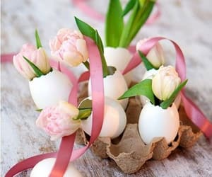 easter, flowers, and pink image