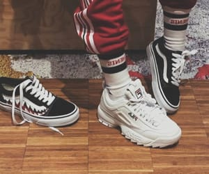 shoes, vans, and sneakers image