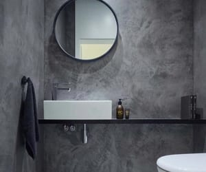 bathroom and mirror image