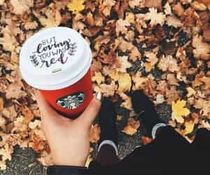 autumn, coffee, and goals image