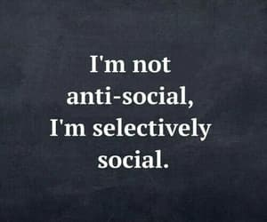 social and quotes image
