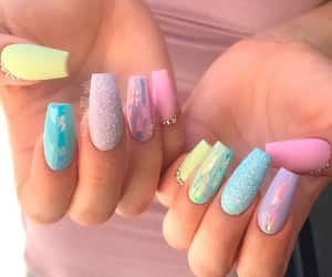 easter, nails, and easter nails image