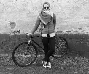 bicycle, bike, and black image