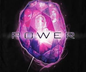 Marvel, the avengers, and power stone image