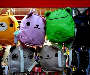 cute, bag, and backpack image