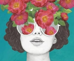 art, flower, and nice image