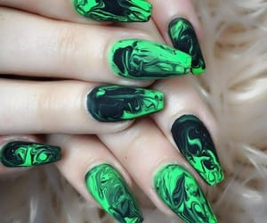 ghetto, green, and nails image