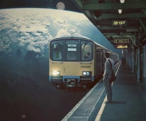 train and art image