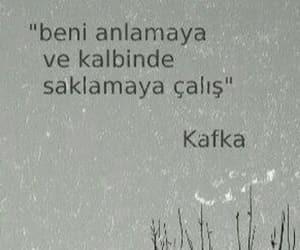 franz kafka, alıntı, and türkçe sözler image