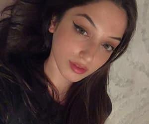 beautiful girl, eyes, and girl image