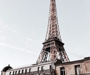 travel, paris, and eiffel tower image