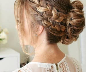 beautiful, braids, and fashion image