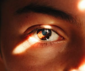 eye, eyes, and light image