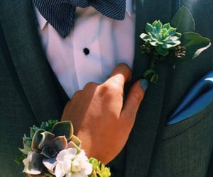 bow tie, corsage, and dance image
