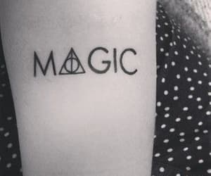 magic, tattoo, and harry potter image