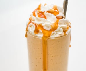 drink, food, and frappuccino image