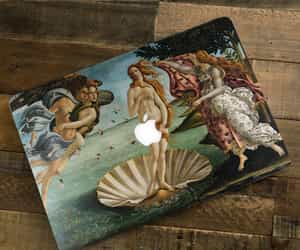 apple, art, and birth of venus image