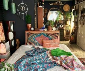 amazing, bed, and boho image