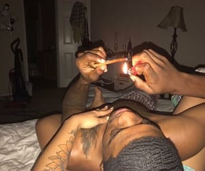 couples, weed, and mood image