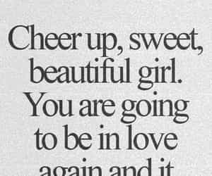 love, quotes, and cheer up image