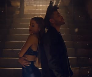 ariana grande, the weeknd, and love me harder image
