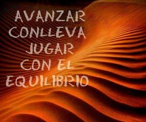 vida, frases español, and avanzar image