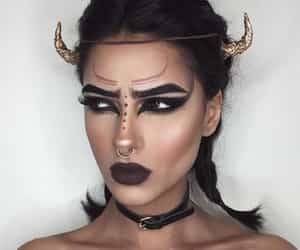 makeup, Halloween, and taurus image