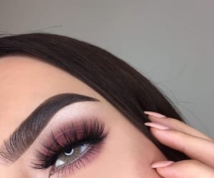 eyeshadow, makeup, and eyes image