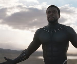 Marvel, film frame, and chadwick boseman image
