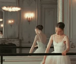 ballerina, pink, and ballet image