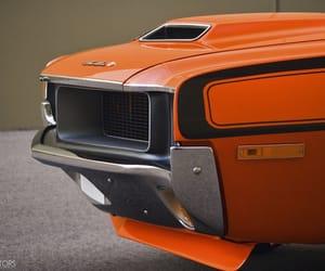 orange, cars, and hotrods image