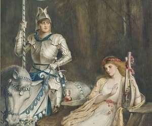 chivalry, knight, and lady image