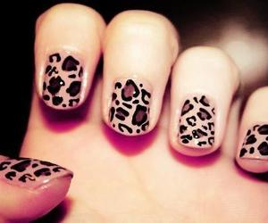 nails and leopard image