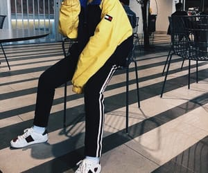 streetwear, gucci shoes, and aesthetic outfit image