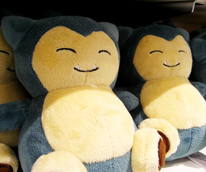 pokemon, snorlax, and cute image