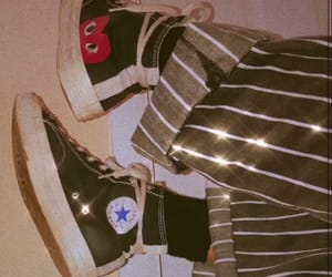 converse, aesthetic, and black image