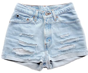clothes, denim shorts, and png image