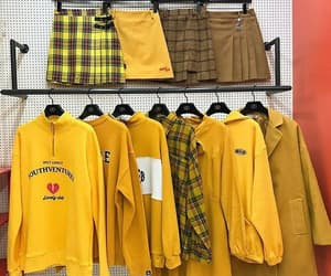 yellow, clothes, and aesthetic image