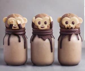 cake, monkeys, and delicious image