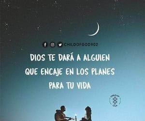 god, vida, and love image