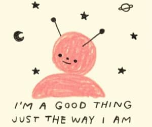 quotes, alien, and pink image