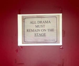 drama, quotes, and red image