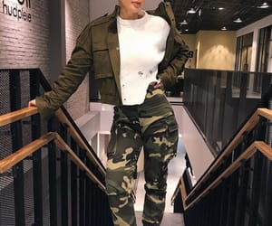 army, casual, and girl image