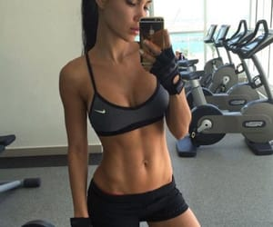 abs, girl, and inspo image