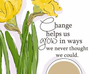change, flowers, and remember image