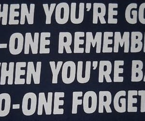 quotes, bad, and forget image