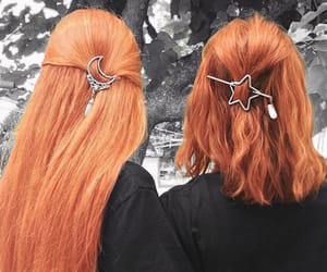 hair, beautiful, and ginger image