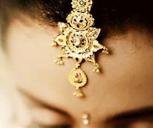 bindi, bollywood, and bride image
